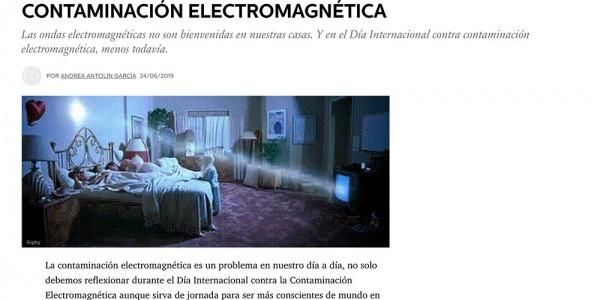 La revista ELLE DECOR habla sobre la Contaminación Electromagnética