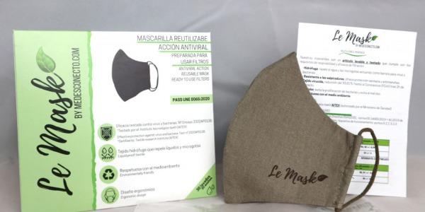 Medesconecto.com lanza una línea de mascarillas con un tejido que elimina más del 90% del COVID en 2 horas